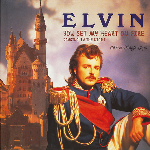 "Elvin - You Set My Heart On Fire - 12"" Transparent"