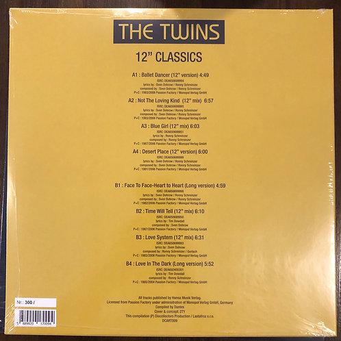 """The Twins - 12"""" Classics - LP Black vinyl"""