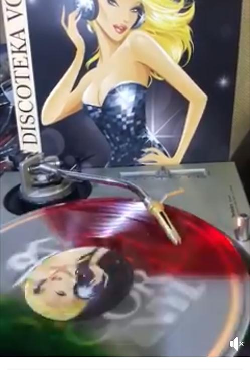 La Discoteka Vol 3 - red clear & green color vinyl