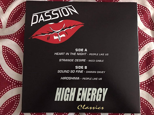 """Passion High Energy - 12"""" Red vinyl"""