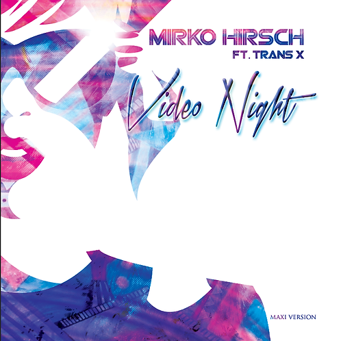 "Mirko Hirsch feat. Trans-X  - Video Night 12"" Orange vinyl"