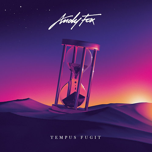 "Andy Fox ‎– Tempus Fugit 12"" black vinyl"