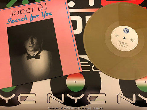 """Jaber DJ - Search for You - 12"""" Gold vinyl"""