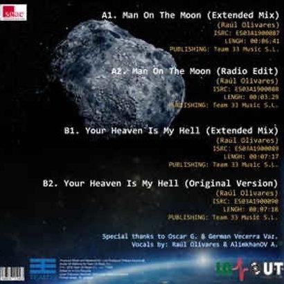 "Mode One - Man On The Moon -12"" blue vinyl"
