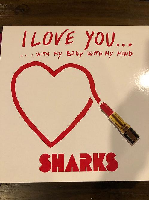 """Shark - I Love You - 12"""" white vinyl"""
