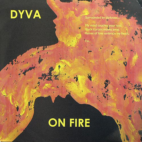 Dyva – On Fire (Repress vinyl with original cover)
