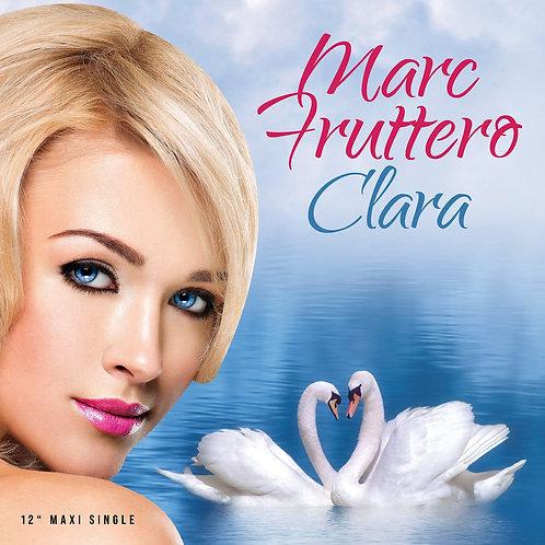 "Marc Fruttero - Clara - 12"" Red vinyl"