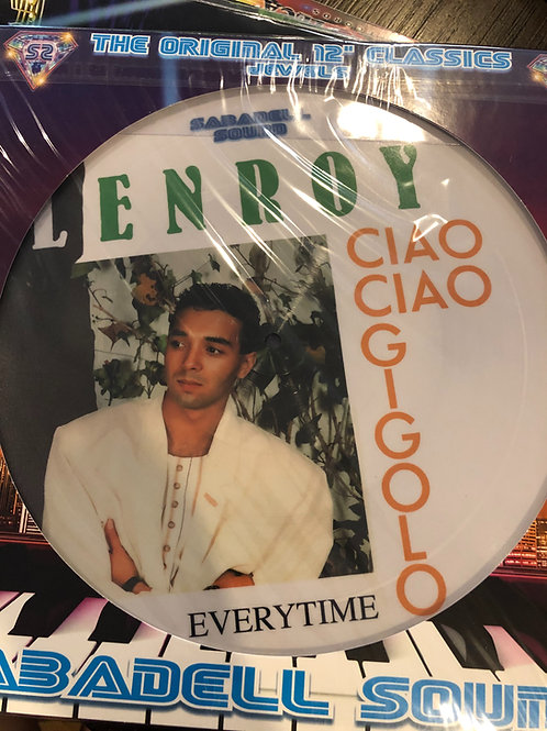 Lenroy / Norman - Ciao / Lets Go To The Beach picture disc