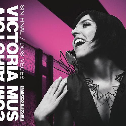 """Victoria Mus - Sin Final / Dos Veces - 12"""" Baby Pink vinyl"""
