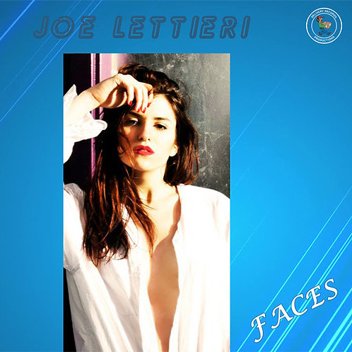 "Joe Lettieri  - Faces - 12"" Blue vinyl"