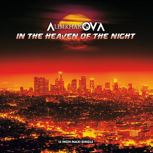 "AlimkhanOVA - In The Heaven Of The Night - 12"" orange vinyl"