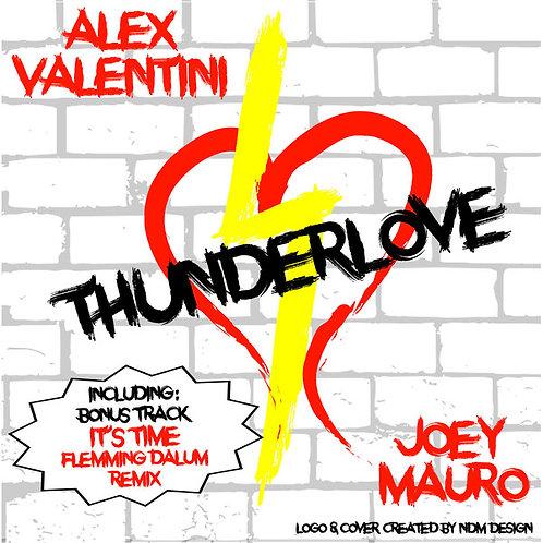"Alex Valentini - Thunderlove 12"" Yellow vinyl"