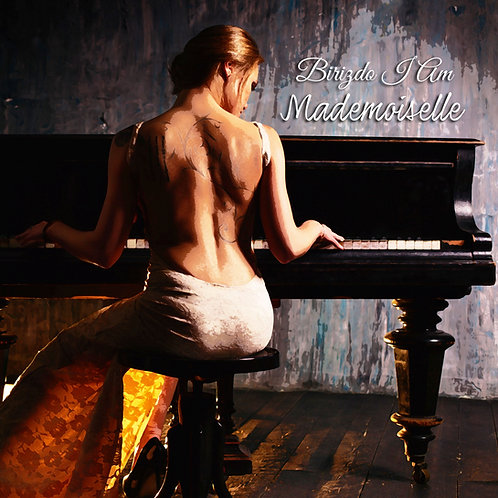 "Birizdo I Am ""Mademoiselle"" 12"" Oxblood Red vinyl"