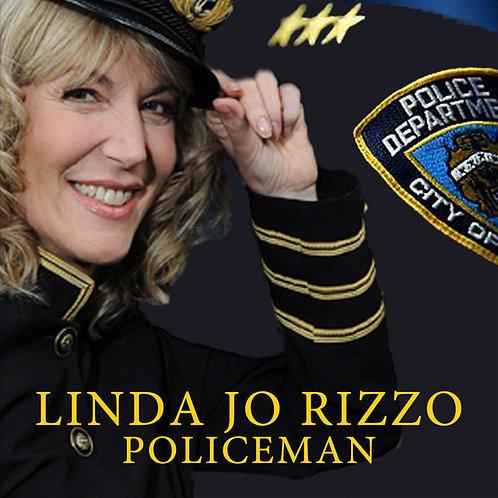 """Linda Jo Rizzo - Policeman - 12"""" Blue vinyl"""
