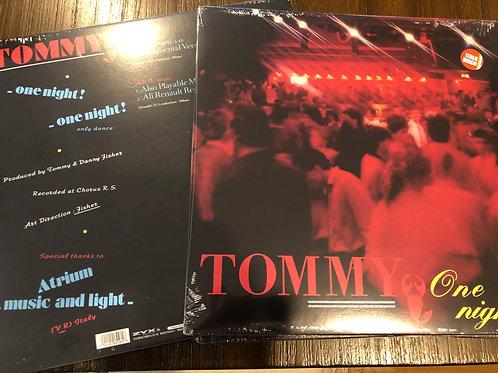 """Tommy - One Night - 12 """" Black vinyl"""