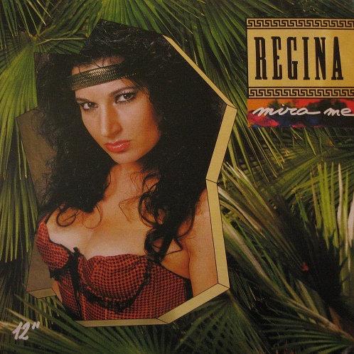 "Regina - Mira Me - 12"" Yellow vinyl"