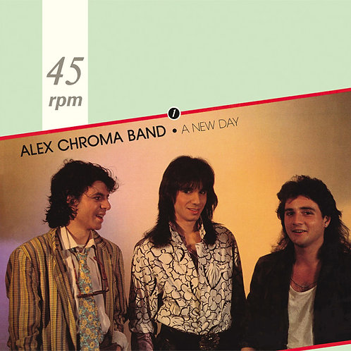 "Alex Chroma Band - A New Day - 12"" Green vinyl"