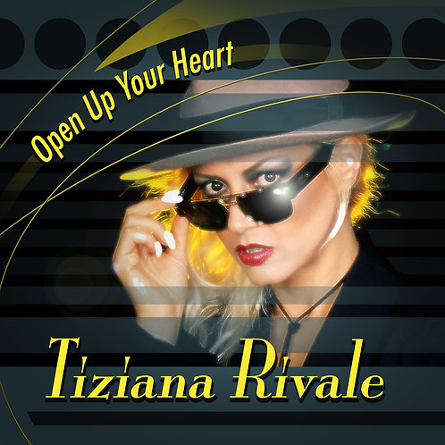 "Tiziana Rivale - Open Up Your Heart - 12"" Yellow vinyl. Limited Edition of 150!!"