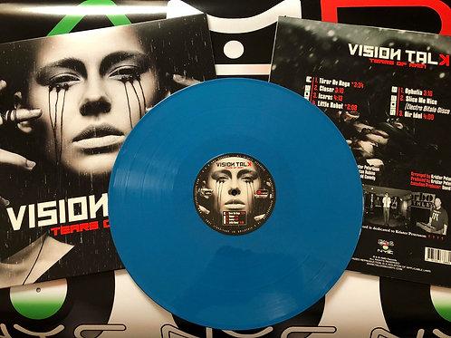 "Vision Talk - Tears Of Rain - 12"" blue vinyl - 100 only."