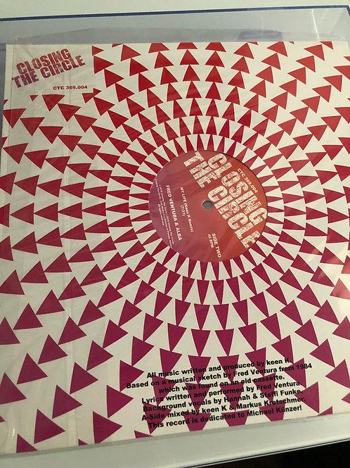 "Fred Ventura & Alba - My Life - 12"" black"