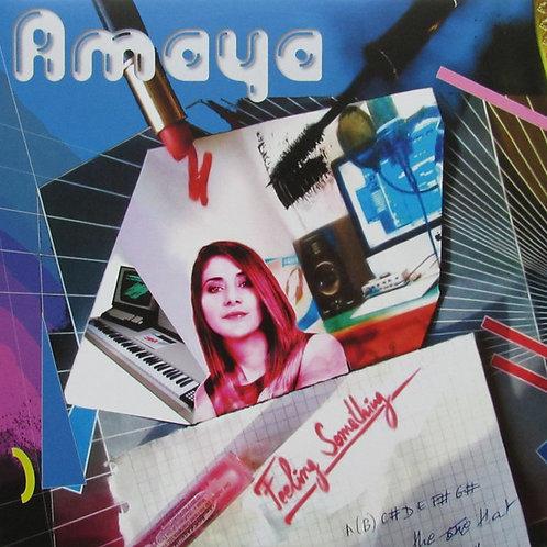 """Amaya - Feeling Something - 12"""" blue vinyl"""