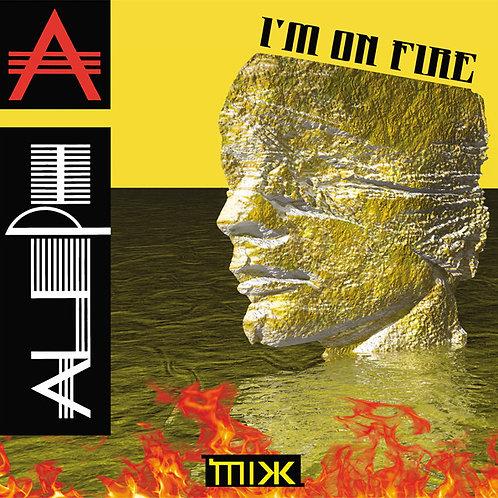 "Aleph - I'm On Fire - 12"" Transparent vinyl"