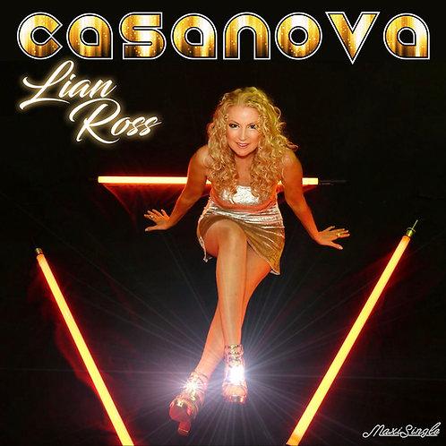 """Lian Ross - Casanova - 12"""" Black vinyl"""
