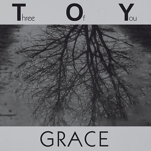 """Three Of You - Grace - 12"""" Grey vinyl. Limited Edition of 100 copies only."""