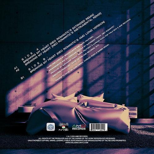 """Marc Fruttero - Breaking My Heart - 12"""" purple colored vinyl"""