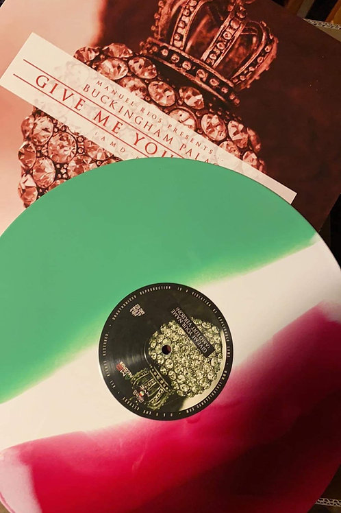 """AMD 102 - Buckingham Palace - Give Me Your Name (AMD Remix)- 12"""" green white red"""