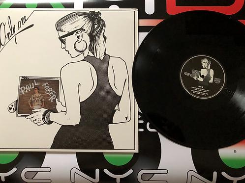 "Paul Faber - Only Me - 12"" black vinyl"