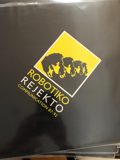Robotiko Rejekto - Communication 87-92 - 2 LP Gatefold Black vinyl