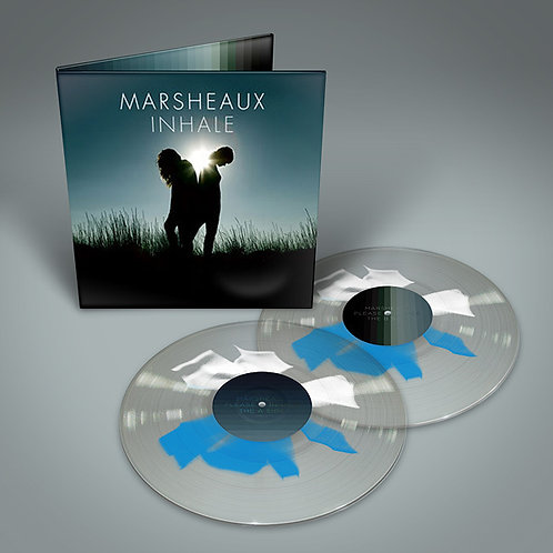 Marsheaux – Inhale (Clear/Square Splatter)