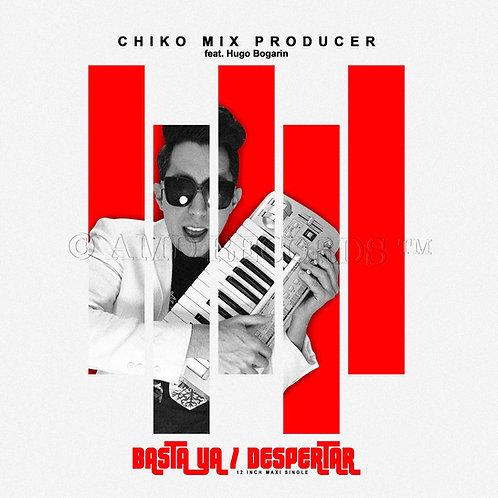 "Chiko Mix - Basra Ya - 12"" silver vinyl"