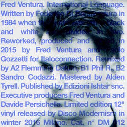 Fred Ventura – International Language (Clear Blue
