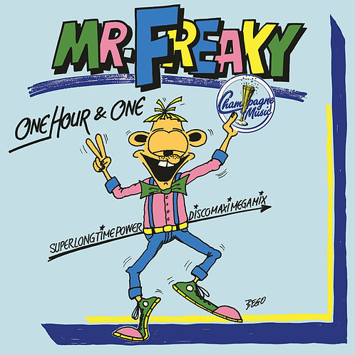 Mr. Freaky – One Hour & One (Solid Blue)