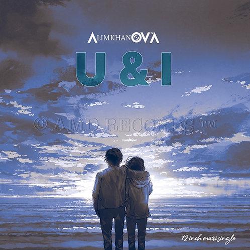 "AlimkhanOVA - U & I - 12"" Aqua blue"