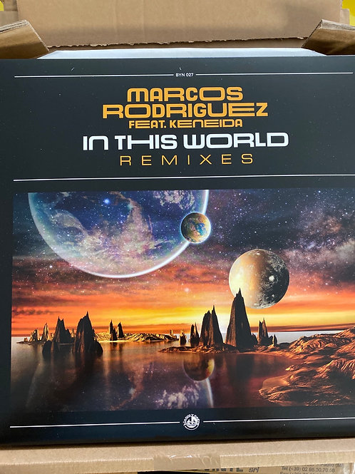"Marcos Rodriguez - In This World - 12"" clear vinyl"