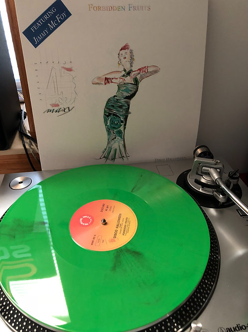 "Forbidden Fruits - Disco Halloween -12"" green vinyl. Limited edition"