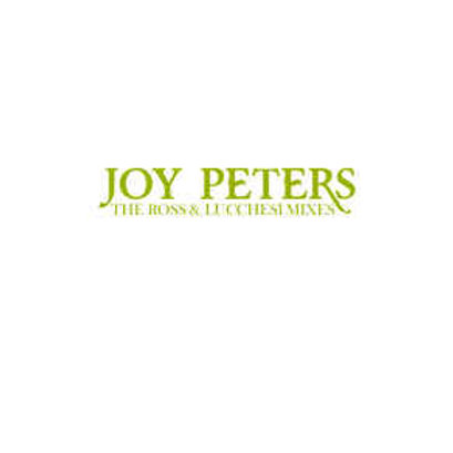 "Joy Peters - Ross & Lucchesi Remixes -  12"" grey vinyl. 100 copies only"