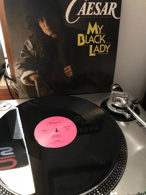 "Caesar - May Black Lady - 12"" black vinyl"