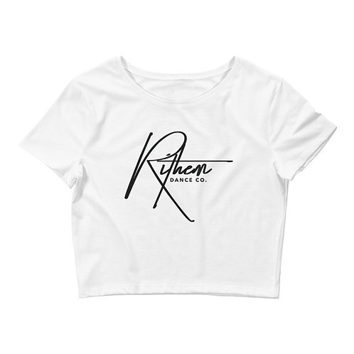 Rithem Signature Women's Crop Tee
