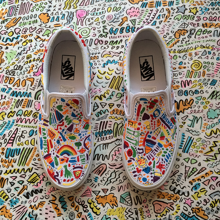Vans shoe collaboration