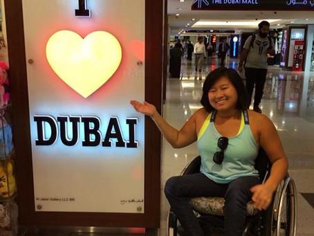 Surprised in Dubai