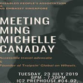 Vox Nostra's announcement of a 2019 meeting with Ming Canaday in Singapore