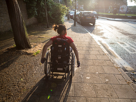 The Girl in a Wheelchair