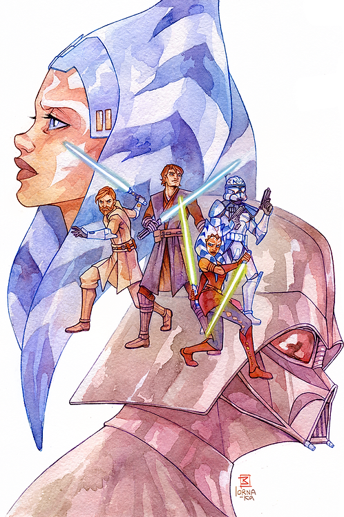 """TCW """"A Journey's End"""" Physical Print"""
