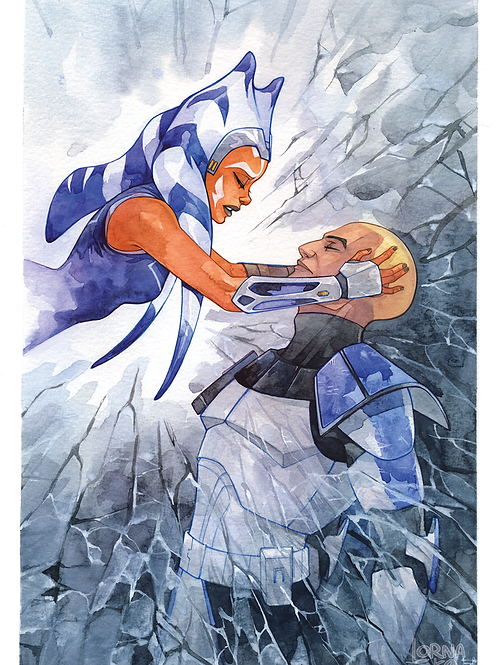 """TCW """"Shattered"""" Physical Print"""