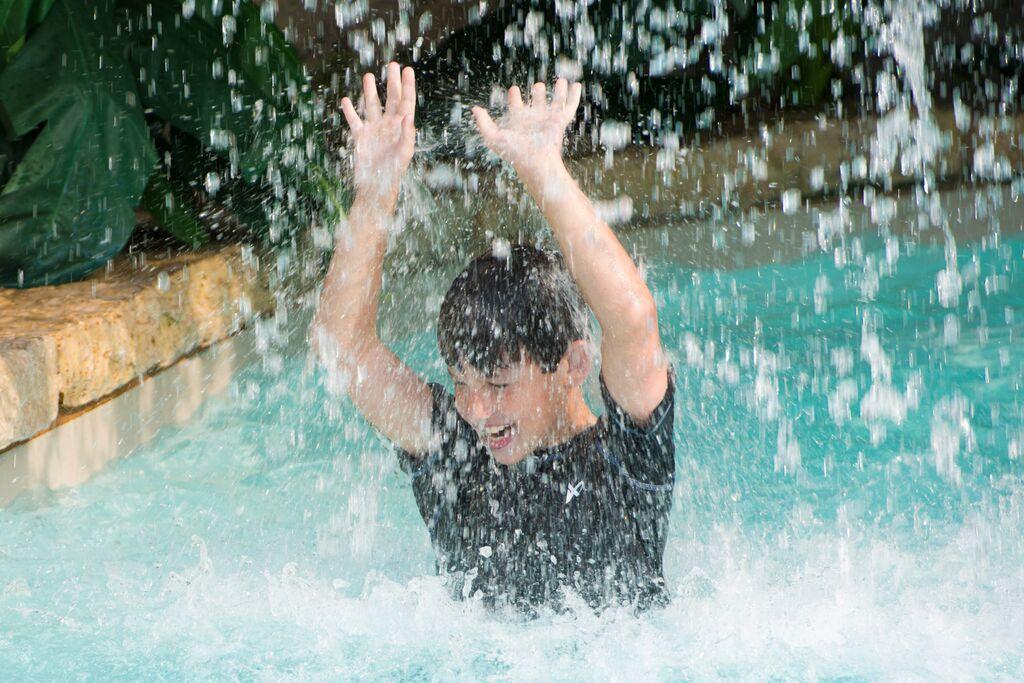 Waterfall at Still Waters Resort