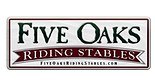 five oaks riding stables logo